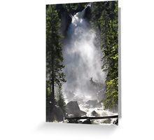 Tumbling Waterfall Greeting Card