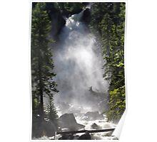 Tumbling Waterfall Poster