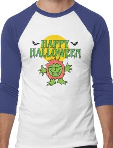 Happy Halloween T-Shirt Men's Baseball ¾ T-Shirt