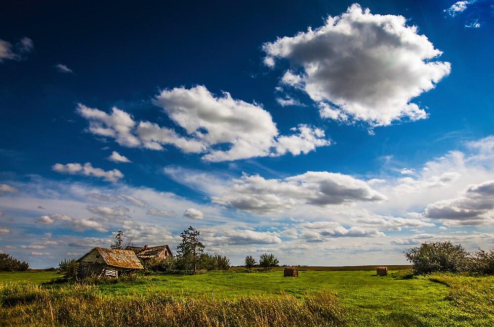 Settlers Home, Alberta Canada by alan shapiro
