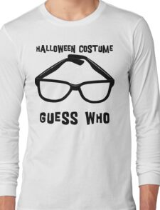 "Halloween ""Halloween Costume - Guess Who?"" T-Shirt Long Sleeve T-Shirt"