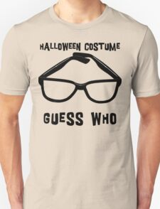 "Halloween ""Halloween Costume - Guess Who?"" T-Shirt Unisex T-Shirt"