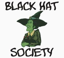 "Halloween ""Black Hat Society"" T-Shirt by HolidayT-Shirts"