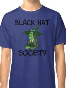 "Halloween ""Black Hat Society"" T-Shirt Classic T-Shirt"