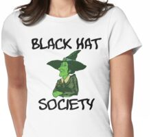 """Halloween """"Black Hat Society"""" T-Shirt Womens Fitted T-Shirt"""