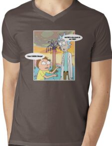 Rick Morty Vacation Mens V-Neck T-Shirt
