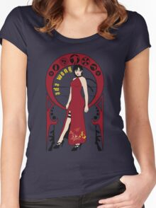 Lady in Red Women's Fitted Scoop T-Shirt