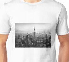 Sunset of Manhattan BW Unisex T-Shirt