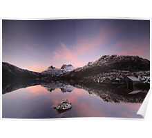 Spring at Cradle Mountain Poster