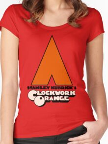 A Clockwork Orange I Women's Fitted Scoop T-Shirt