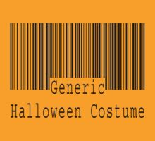 "Halloween ""Generic Halloween Costume"" T-Shirt by HolidayT-Shirts"