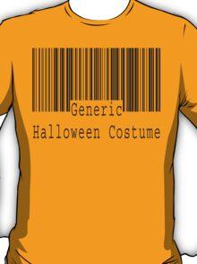 "Halloween ""Generic Halloween Costume"" T-Shirt T-Shirt"