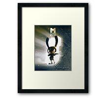 Matoki Daehyun Matrix M Framed Print