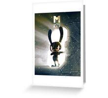 Matoki Daehyun Matrix M Greeting Card