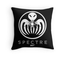 Spectre 007 Bond Symbol Throw Pillow