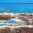 Whale watching at the rock pools by Kathie Nichols