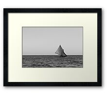 Ocean Sailing Framed Print