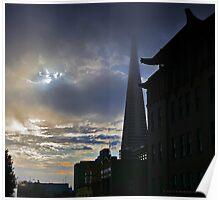 Jackson Street Sun and Fog Poster