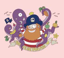 Pirate's need Vegetables Kids Tee