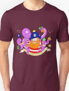 Pirate's need Vegetables Unisex T-Shirt