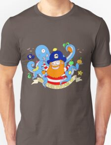Pirate's need Vegetables T-Shirt