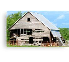 Used Barn Canvas Print