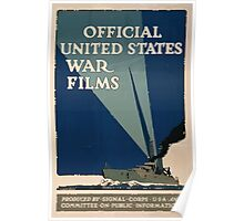 Official United States war films 002 Poster