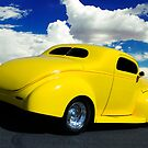 Yellow Hot Rod by George Lenz