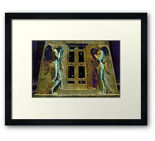 Angelo del Dolore Framed Print