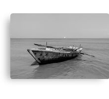 Old time fishing boat Canvas Print