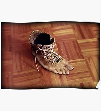 Run Rene boots run Poster