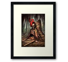 The Battle and the Bird Framed Print