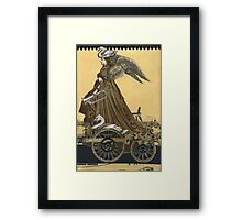 Magic Masquerade Train - Boudicca Framed Print