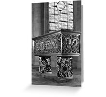 BW France Paris Marshal's Lyautey Tomb 1970s Greeting Card