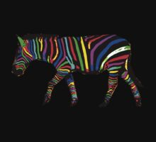 Pop Art Zebra by ZantheClothing