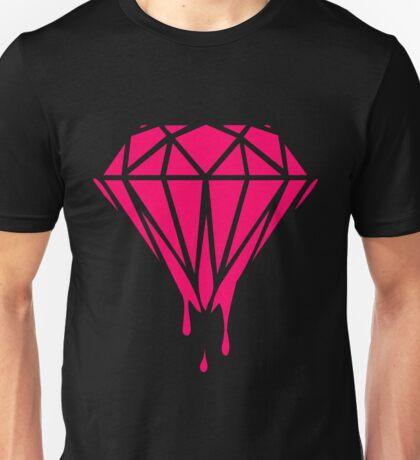 Neon Dripping Diamond Unisex T-Shirt
