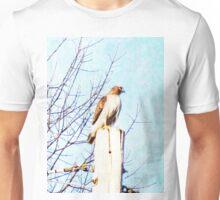 Red Tail Hawk Unisex T-Shirt