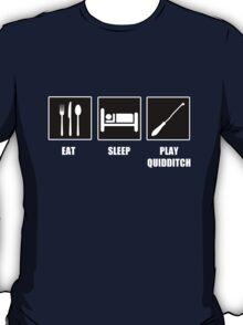 Eat Sleep Play Qudditch T-Shirt