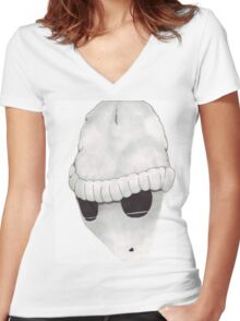 Mono Women's Fitted V-Neck T-Shirt