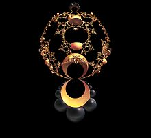 """Gold Pendant"" by Patrice Baldwin"