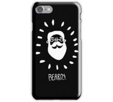 Beards. iPhone Case/Skin