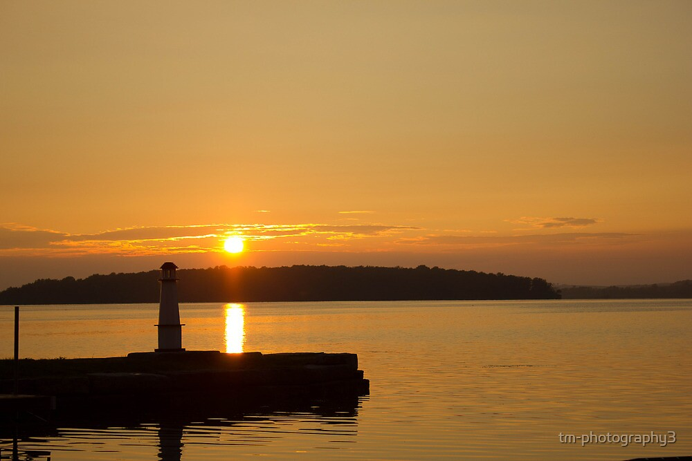 Lighthouse Sunset by tm-photography3