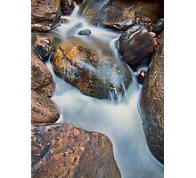 Brush Creek Detail 2 Photographic Print