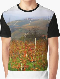 Autumn in the Langhe  Graphic T-Shirt