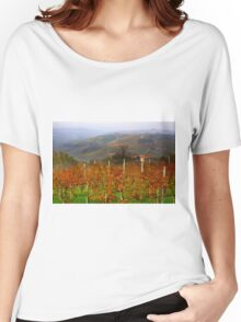 Autumn in the Langhe  Women's Relaxed Fit T-Shirt
