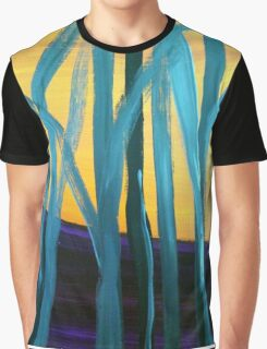 Abstract tree landscape Graphic T-Shirt