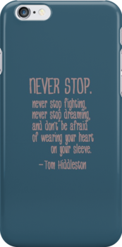 Never Stop. by Nephie Ripley