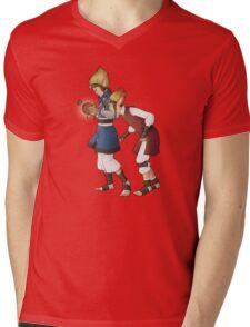 Power Cell Mens V-Neck T-Shirt