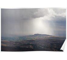 Storm Over Vernal Poster