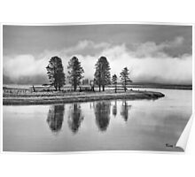 Yellowstone Reflections Poster
